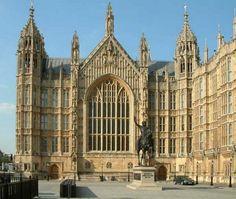 Westminster Hall - Augustus Pugin