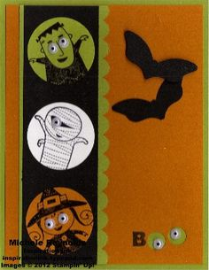 Ghouls Circles Boo by Michelerey - Cards and Paper Crafts at Splitcoaststampers