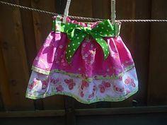 cute layered skirt