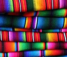 serape kalidescope of color