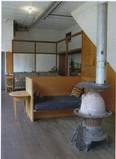 woodstove/basement