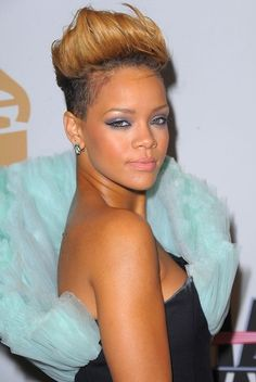Rihanna Faux hawk
