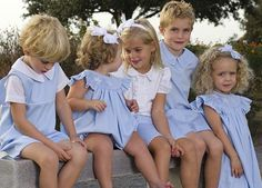 smocked dresses, matching outfits, futur grandchildren, futur children, babi, future family, future kids, southern preppy kids, futur famili
