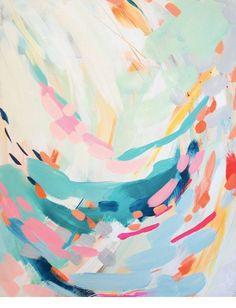 Swoop, Britt Bass #art #artwork #abstract #painting #giclee #print