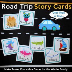 Free Road Trip Game Printable For Happy Kids