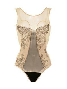 Lascivious Ana Bodysuit via Pretty Little Underthings Blog #lingerie #blog #lace