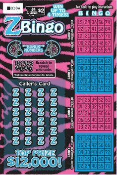 scratch ticket, bingo