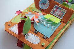 An Inspirational, Aspirational Quiet Book  Handmade by Mom