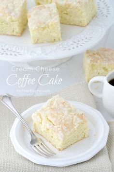 Christine's Kitchen Chronicles: Guest Post by Mother Thyme: Cream Cheese Coffee Cake