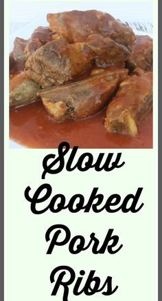 Slow Cooked Pork Rib