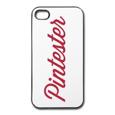 Pintester iPhone 4/4S cover/case ~ 1783