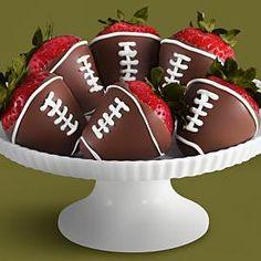 I bet I could make these.  Super Bowl 2012?