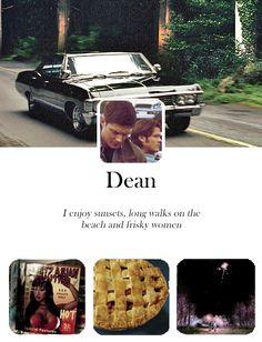 If Dean had a blog...