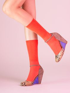 Fight Fire with Fire- Seychelles Footwear #seychelles #seychellesshoes #colorblock