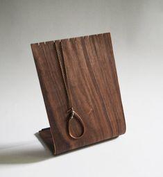 {handmade wooden necklace holder} by Andersen Familiar