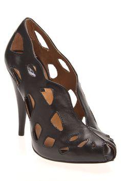 Messeca Angie Heel in Black