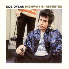 Bob Dylan: Highway 61 Revisited. I love Dylan. I really don't think I have to say anything about him: if you don't know who he is, or what he does, you're probably better off reading something else. This is probably my favourite Dylan album, but ask again tomorrow and that might have changed. Controversially, 'Like a Rolling Stone' is my least favourite song on the album.