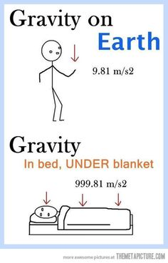 Bed gravity explained...