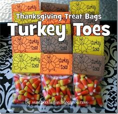 Thanksgiving Treat Labels from mudpiestudio.blogspot.com #class #craft #turkey