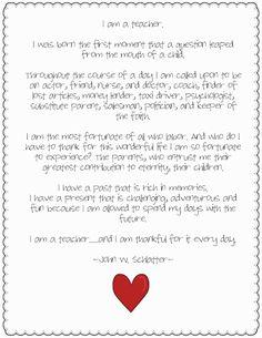 How to write an i am me poem