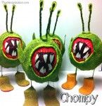 Make a Chompy for a Skylanders Party | Plucking Daisies