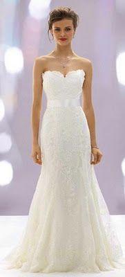 Pretty for a lace dress.