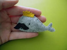 royal mustache whale! what's not to love about this little guy?