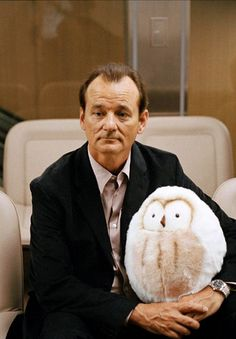 Bill Murray in Lost in Translation <3