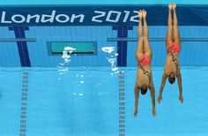 Giulia Lapi & Mariangela Perrupato of Italy in Women's Duets Synchronized Swimming