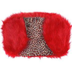 Etosell Lady Faux Fur Shrug Jacket Ca...