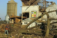 Barn quilt survives tornado in Walworth County, WI