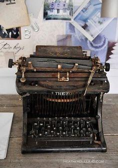 typewriter I     .....rh