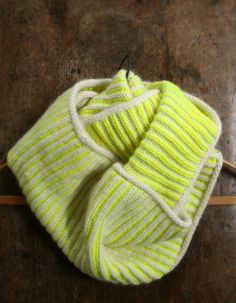 Purl Bee - Neon Cowl Pattern