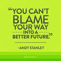Andy Stanley #startingover