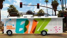 Palm Springs BUZZ Will Transport Residents, Visitors Around City - Desert Guide - July 2014 - Palm Springs, California