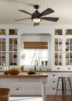 Kitchen Ceiling Fan Ideas on Pinterest