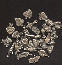 Mexican Milagro charms