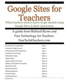 Google Sites for teachers - tips and tricks