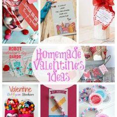 20 Homemade Valentine's Ideas