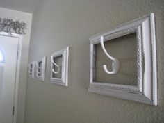 great way to hang stockings esp if you don't have a fireplace!