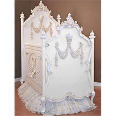 |White Princess Crib|