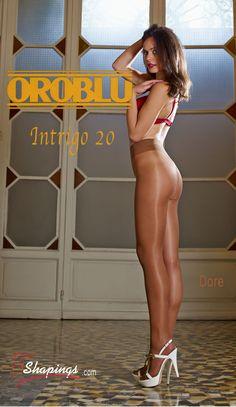 Oroblu Intrigo 20 pantyhose
