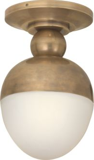 """Clark Ceiling Light , circa lighting  """"I put these in my own house down our hallway. When we moved in there was a track light that drove me crazy so we took out the track..."""""""