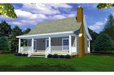 great compact guest house plan