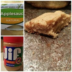 Peanut butter Applesauce Cookies