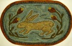 rug hook, wool hook, hook rug, easter, vintage