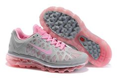 429890-016 Nike Air Max 2011 Women's Running Shoe Grey/Pink Sale under $ 60.00.  My first pair of Nikes in 6 th grade were gray and pink! I want these