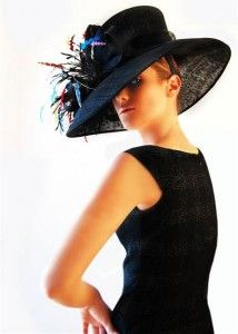 Sinamay Feather Kentucky Derby Hat