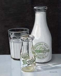 Klondike Milk bottle