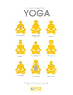 Who can practice yoga…   ;-)
